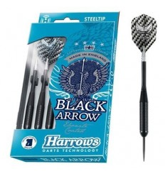Black Arrow Brass Steeltip Dart Pile