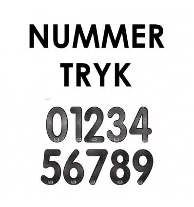 Nummertryk Shopsport