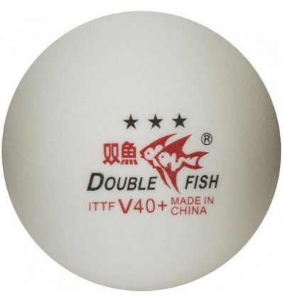 DOUBLEFISH 40+3 Stars Table Tennis Ball (10pcs.)