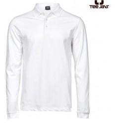 Tee  Jays Fashion Long Sleeve Luxury Stretch Polo Herre
